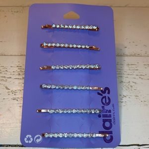 Claire's Hair Barrettes - set of 6